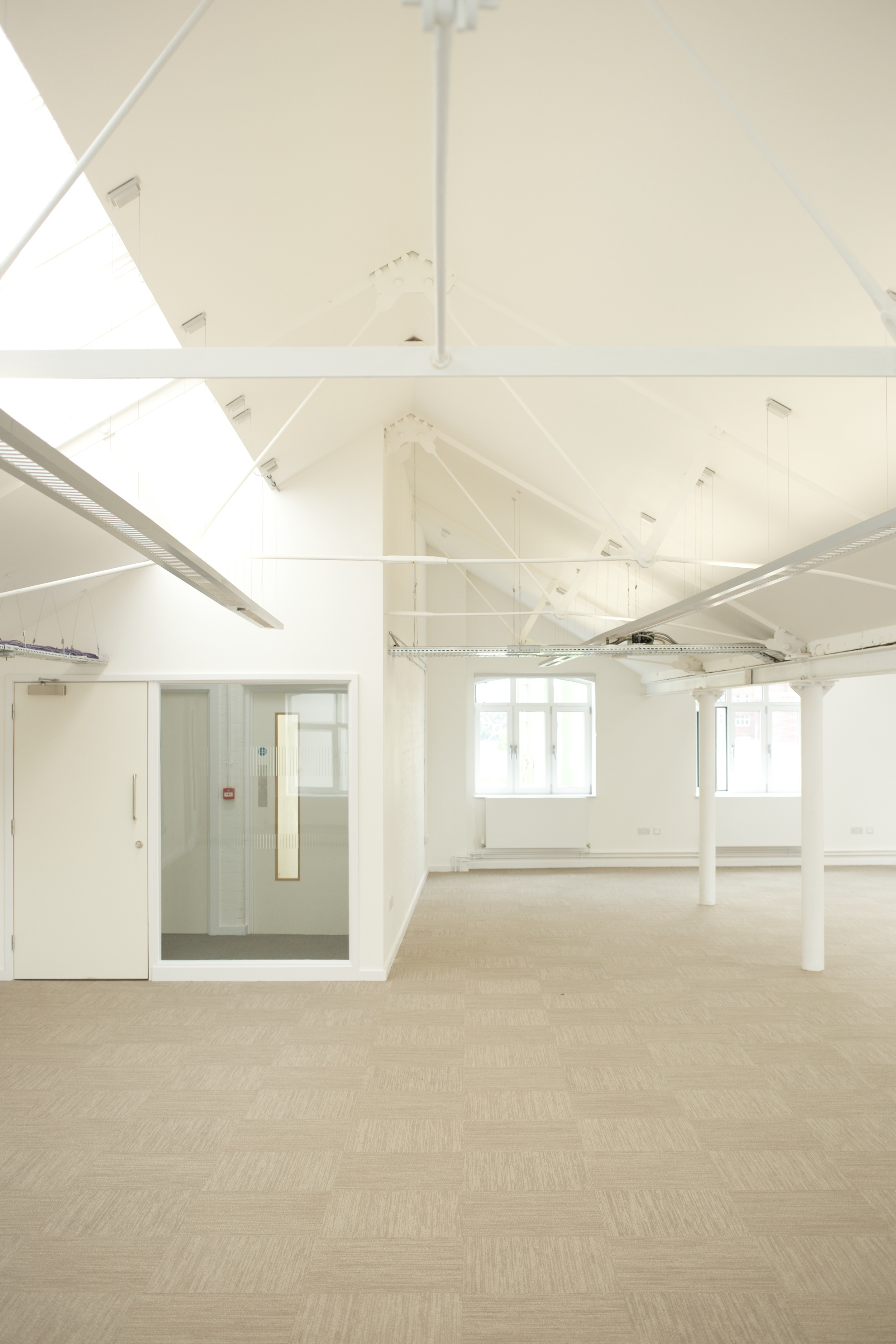 Second floor office space, The Foundry, Vauxhall