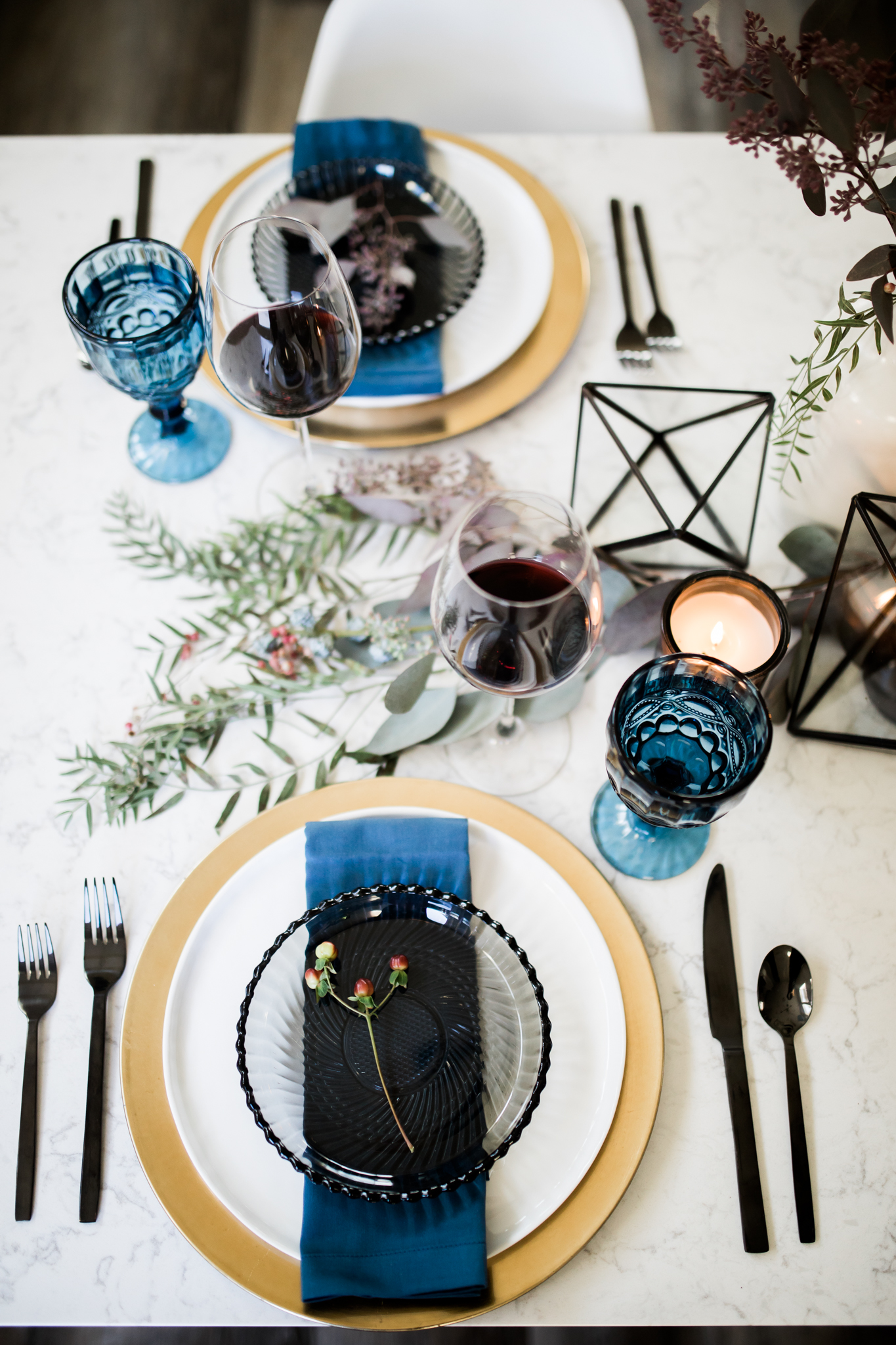 a diy holiday dinner party -