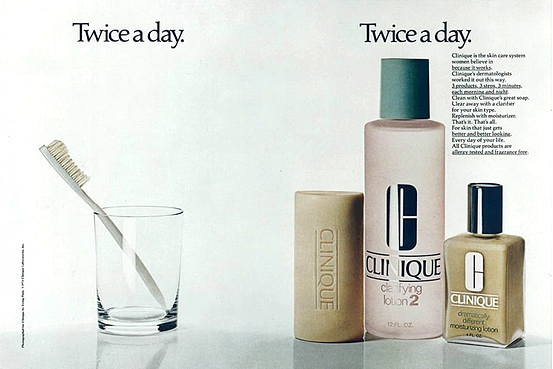 Irving Penn, Clinique ad, 1981