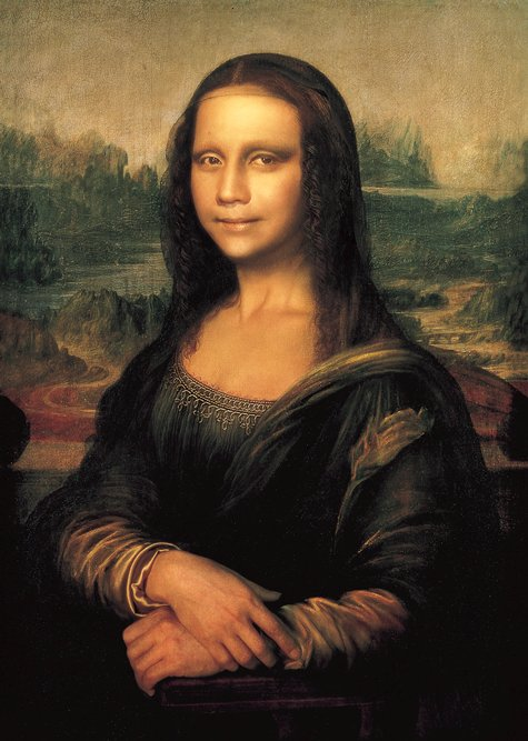 Yasumasa Morimura,  Mona Lisa in Its Origins , 1998