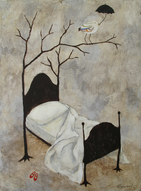 Rebecca Rebouche, Bed With Branches