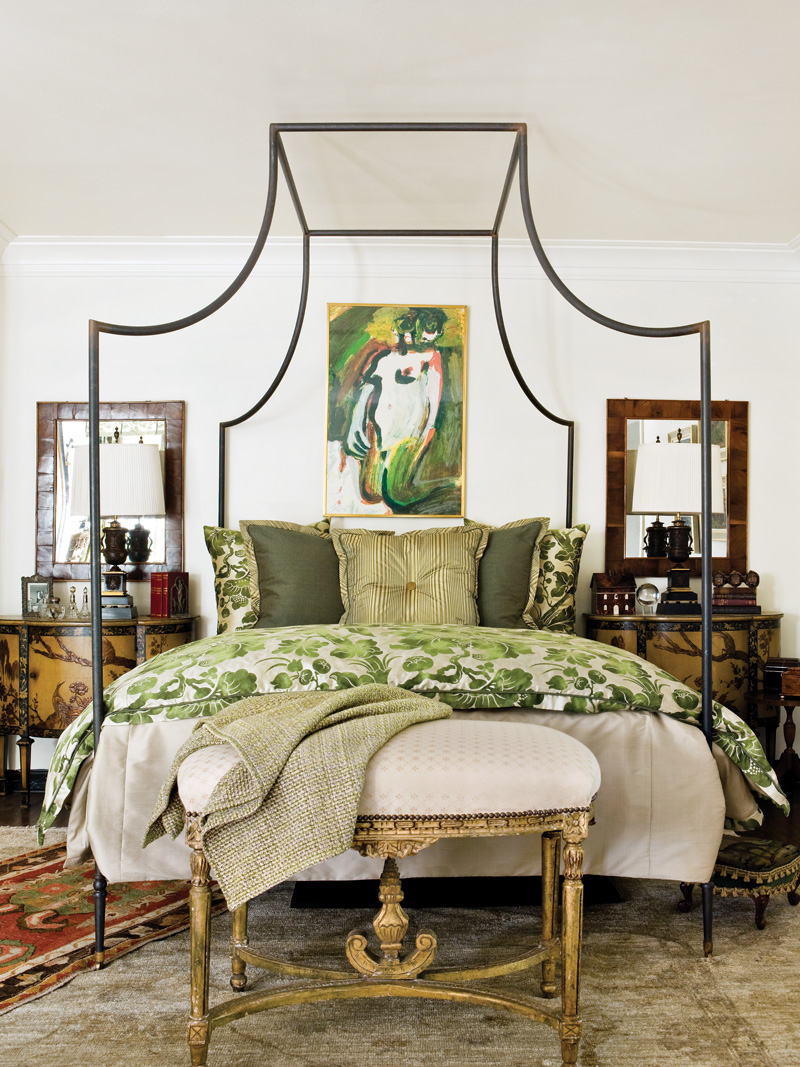 Emerald Bed Linens