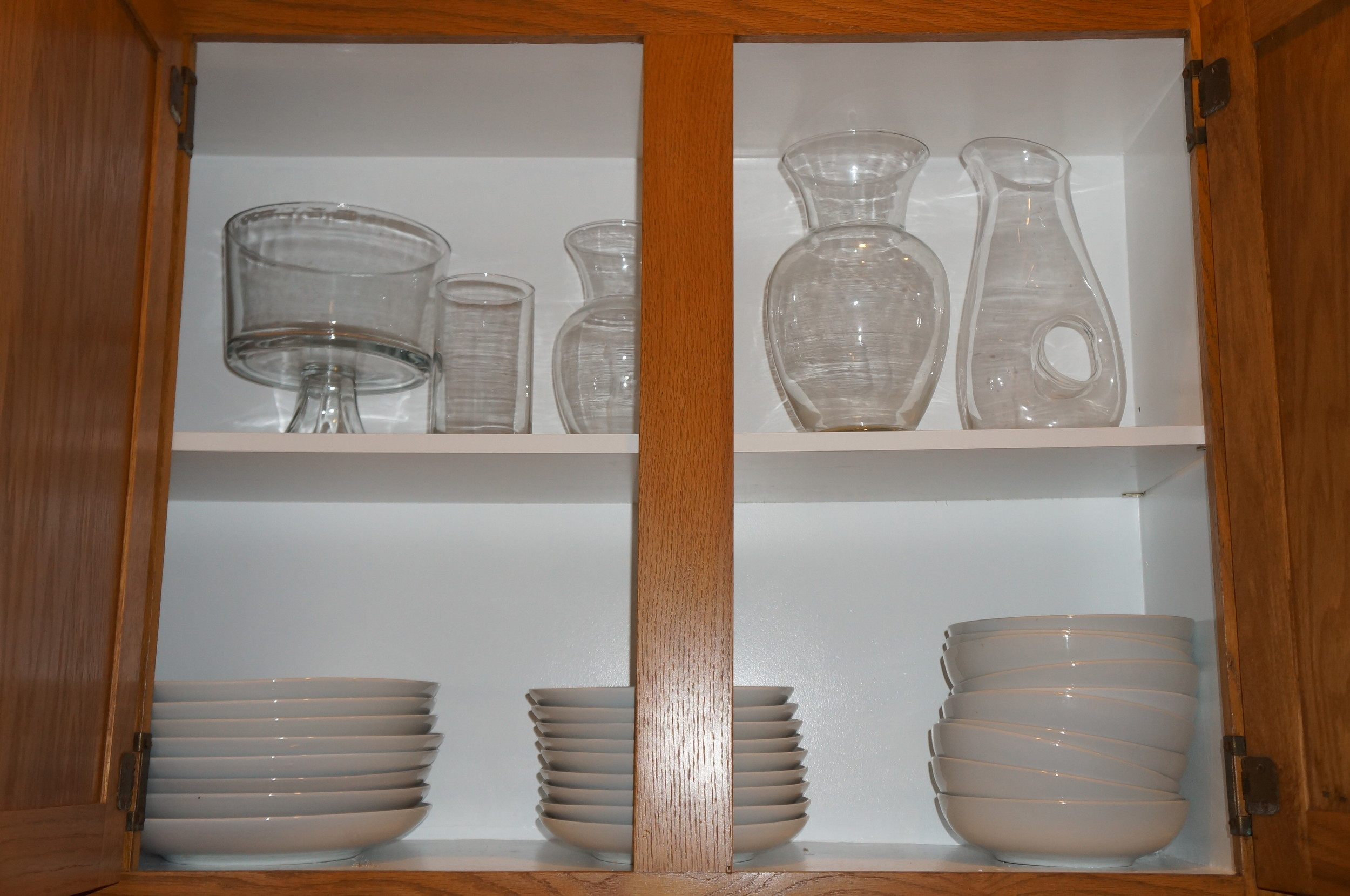 Inside of cabinets AFTER