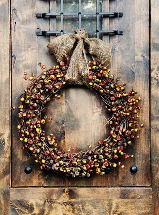 Burlap and Berries, Courtesy Interiors by Studio M