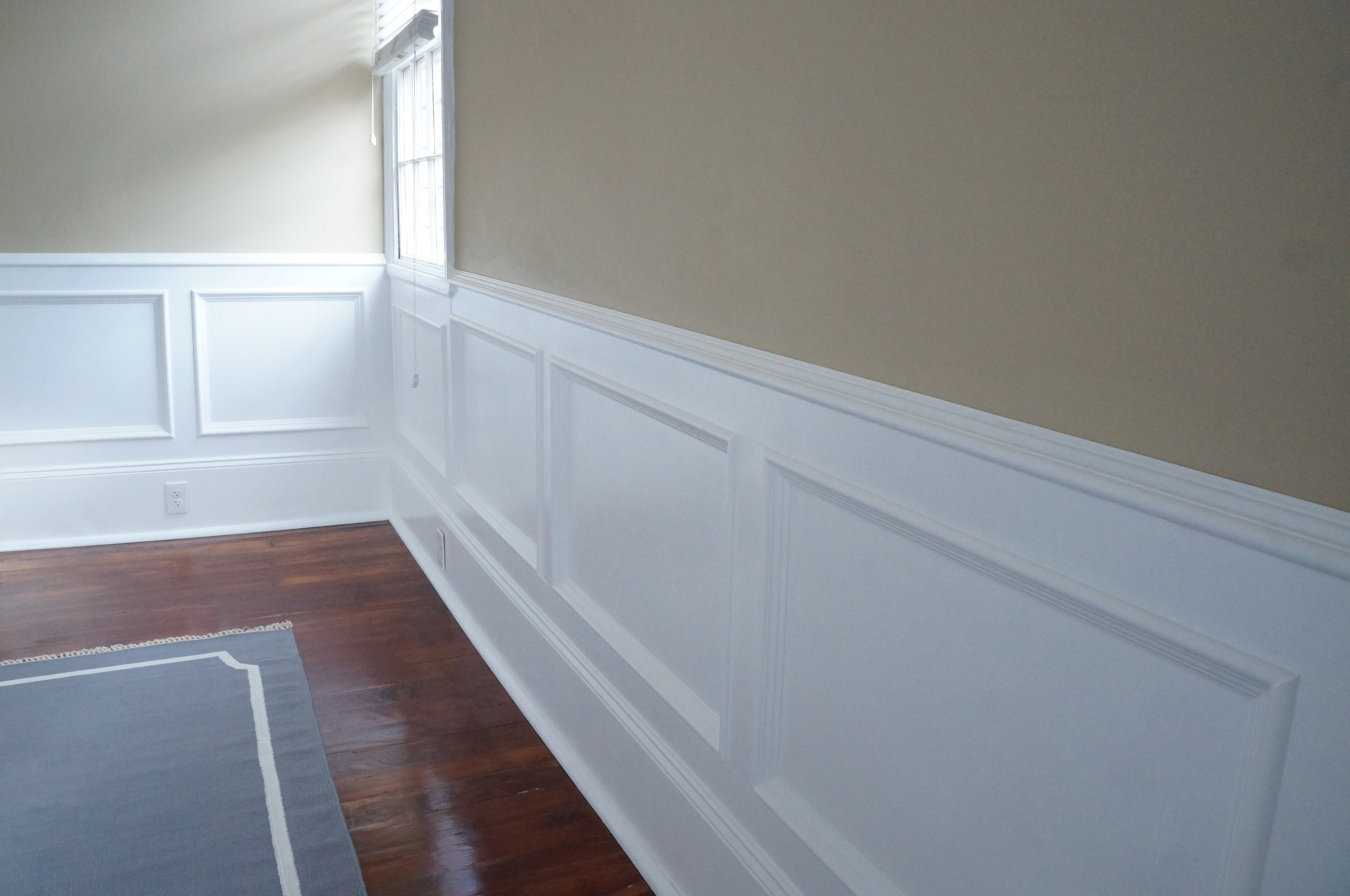 Wainscoting Installation