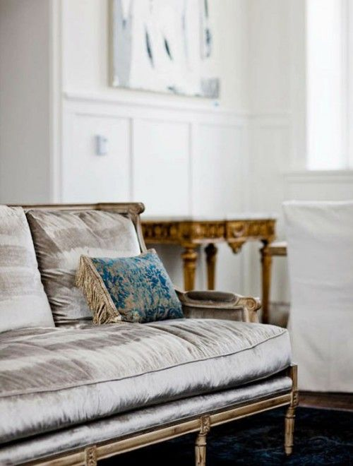 Silver Sofa, Preciously Me