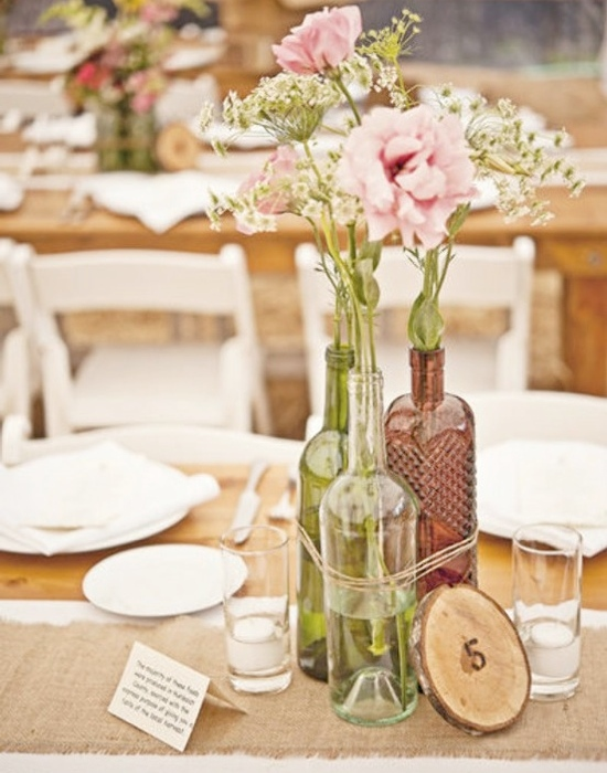 Antique bottles from Weddings by Lilly