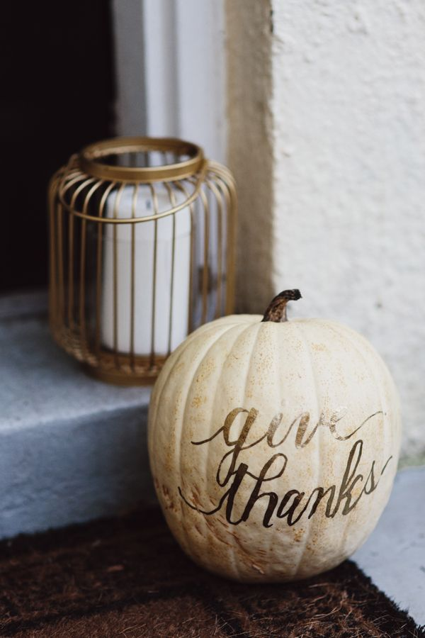 Give thanks pumpkin, Designer Trapped