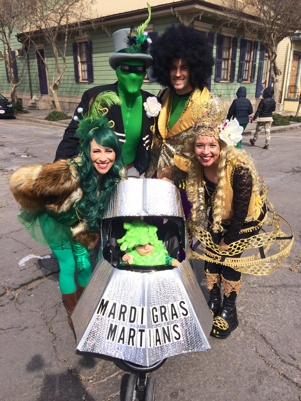 Mardi Gras Martians