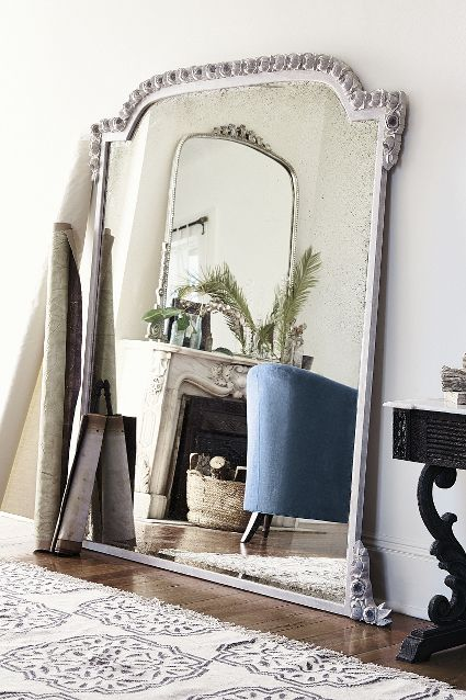 Anthropologie Spring 2015 Draped Garland Mirror