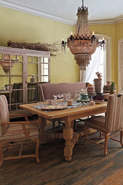 Anthropologie Spring 2015 Sculpted Oak Dining Table