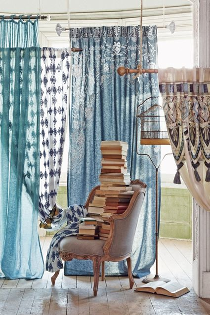 Anthropologie Spring 2015 Seacalm Curtain