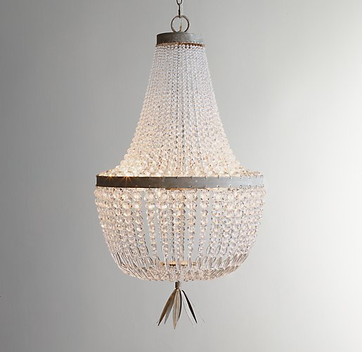 Restoration Hardware Baby and Child Dauphine Crystal Empire Chandelier.jpg