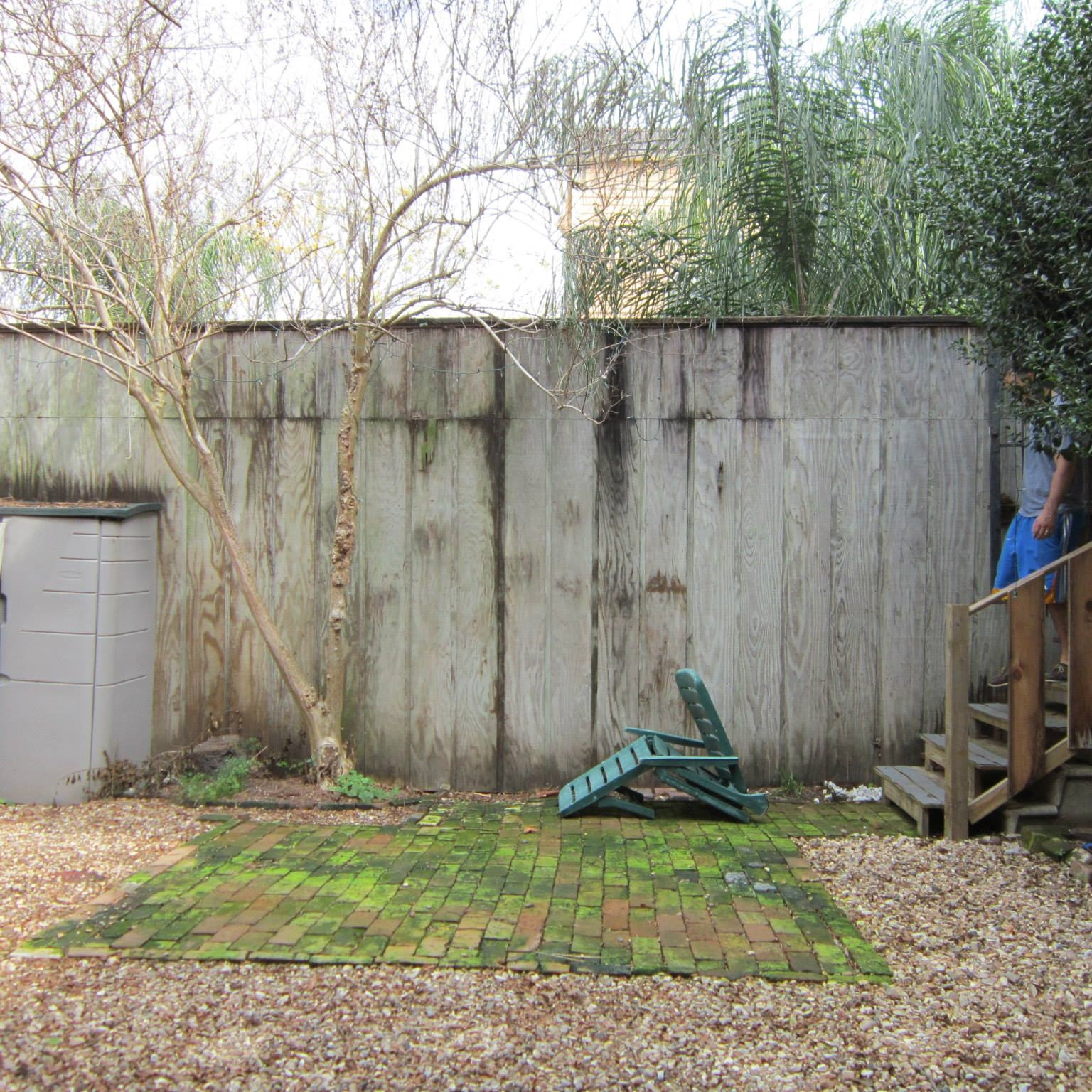 Courtyard renovation- BEFORE