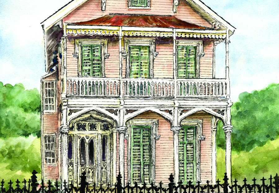 New Orleans Rountree Bland House Courtesy Cygnette