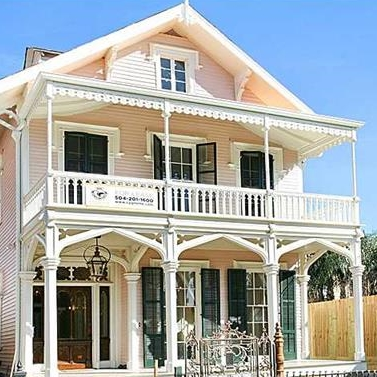 New Orleans' historic Rountree house