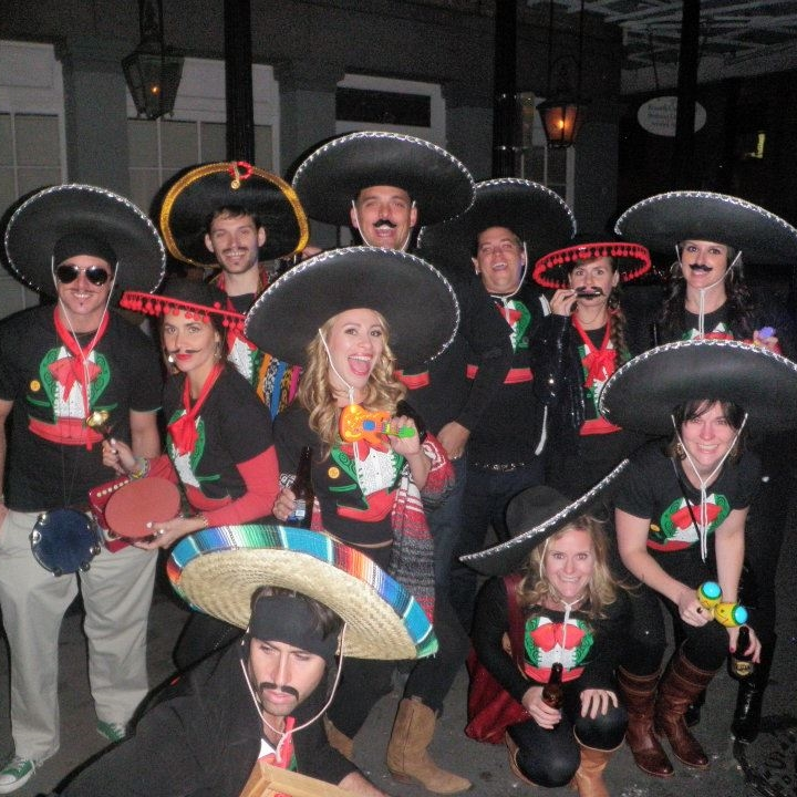 Group costume mariachi band