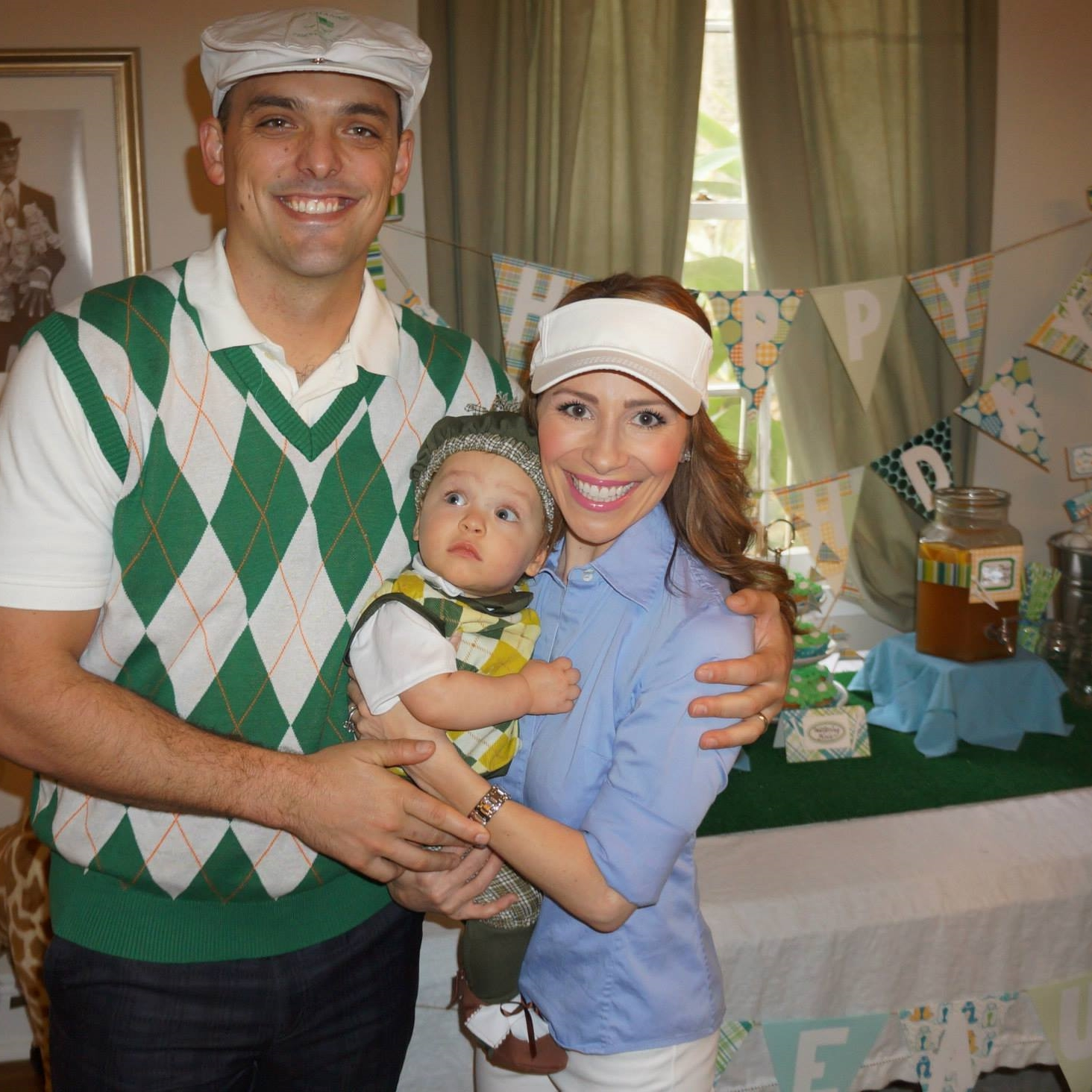 Golf themed family costume