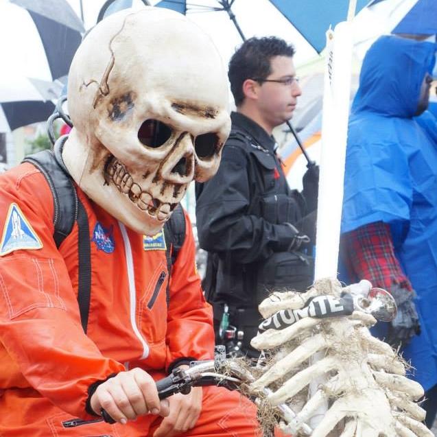 Dead astronaut