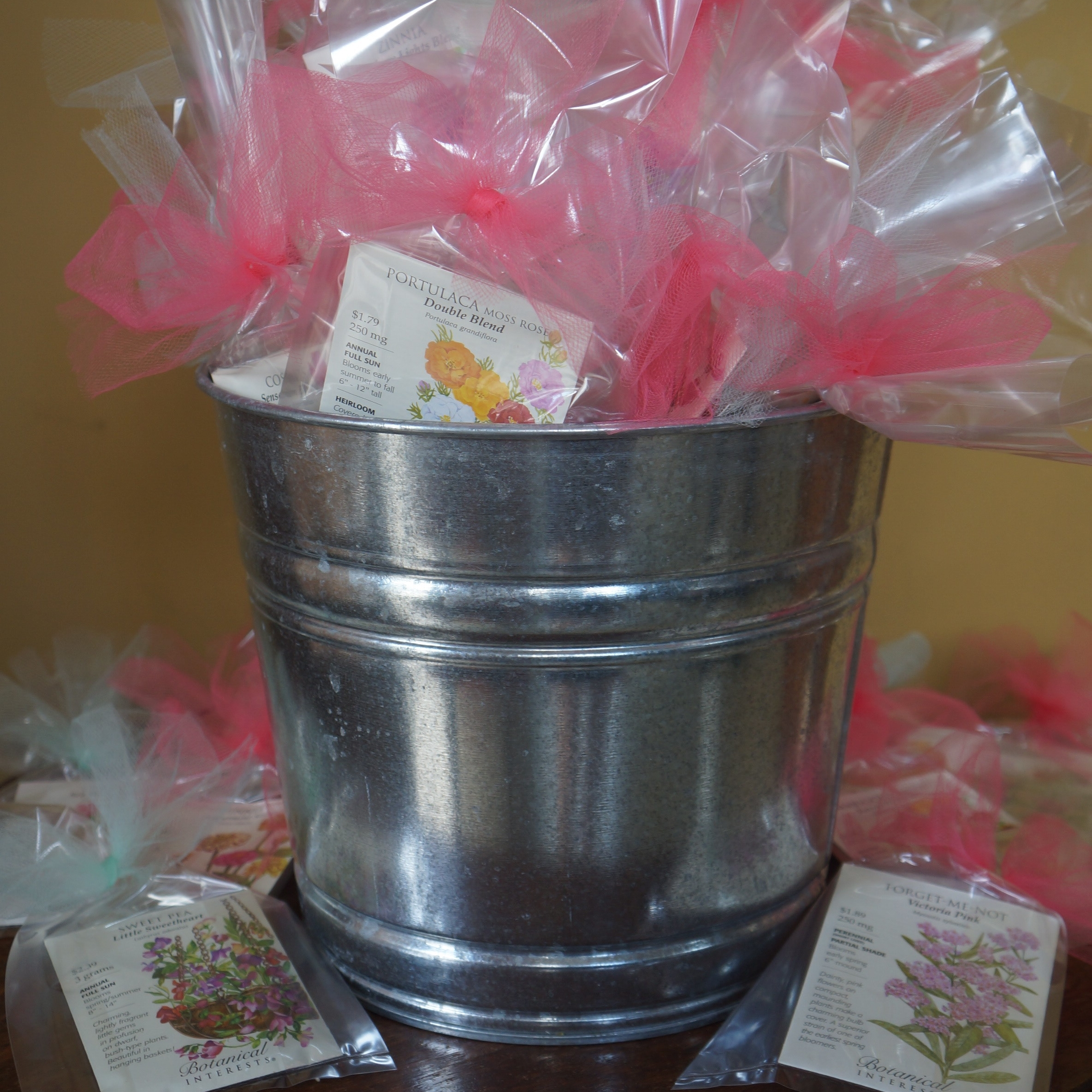 April showers themed baby shower