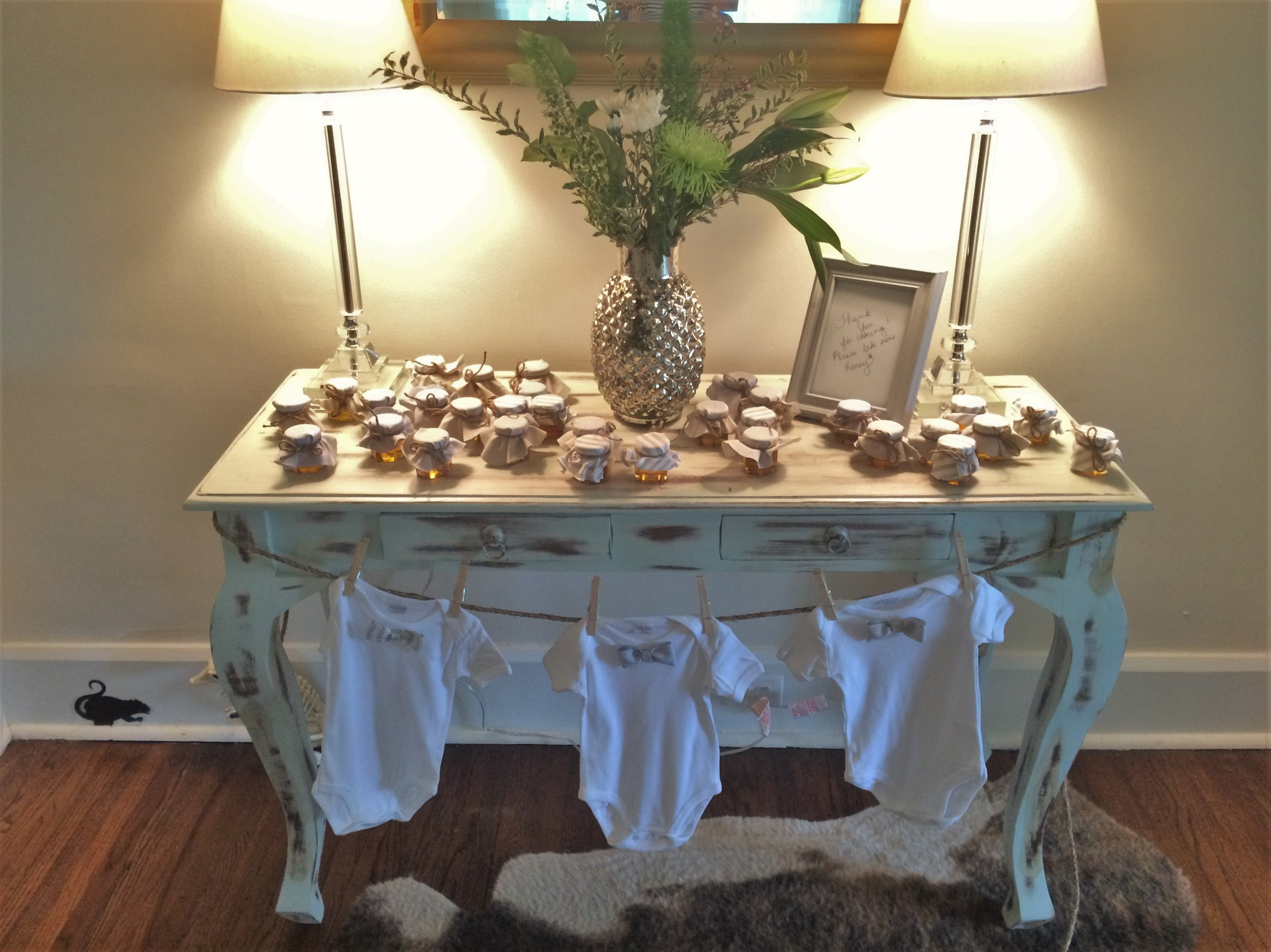 Southern brunch for baby, Anne Cutler