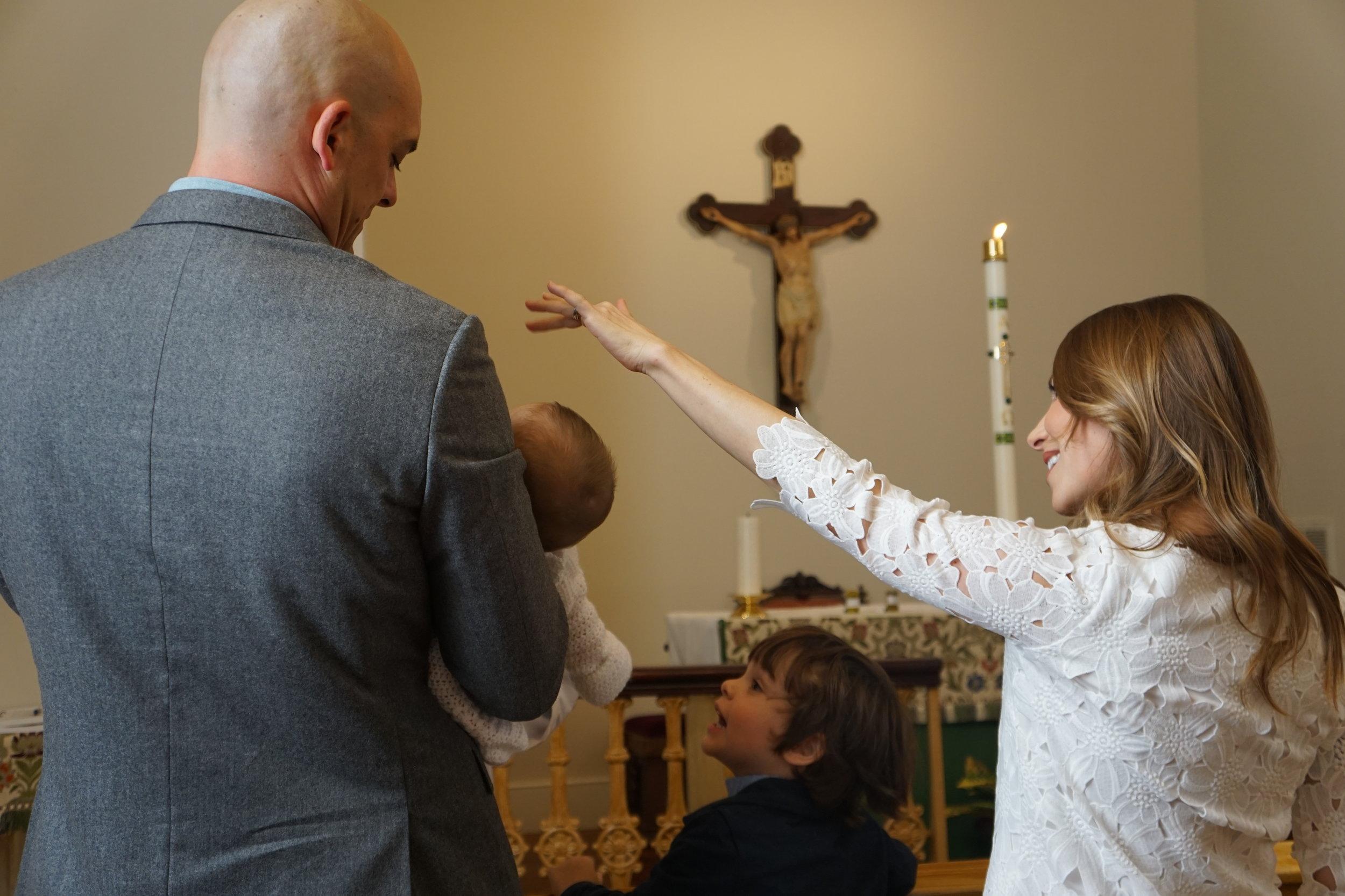 Brook's Baptism