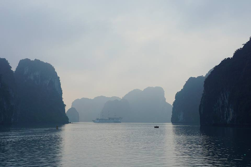Some of the 2,000 islands in Ha Long and Bai Tu Long Bays