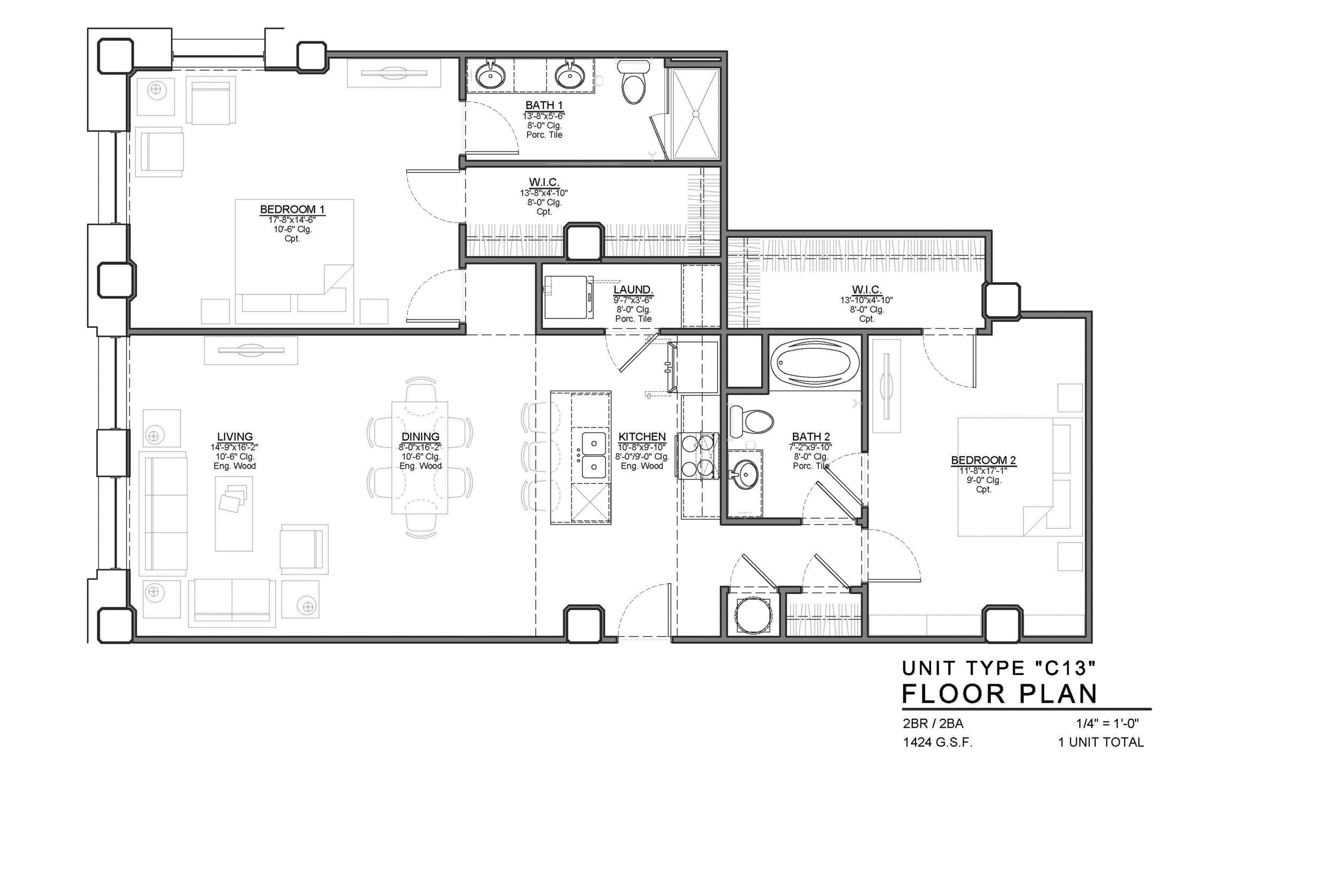 19th Floor Plans Gallery