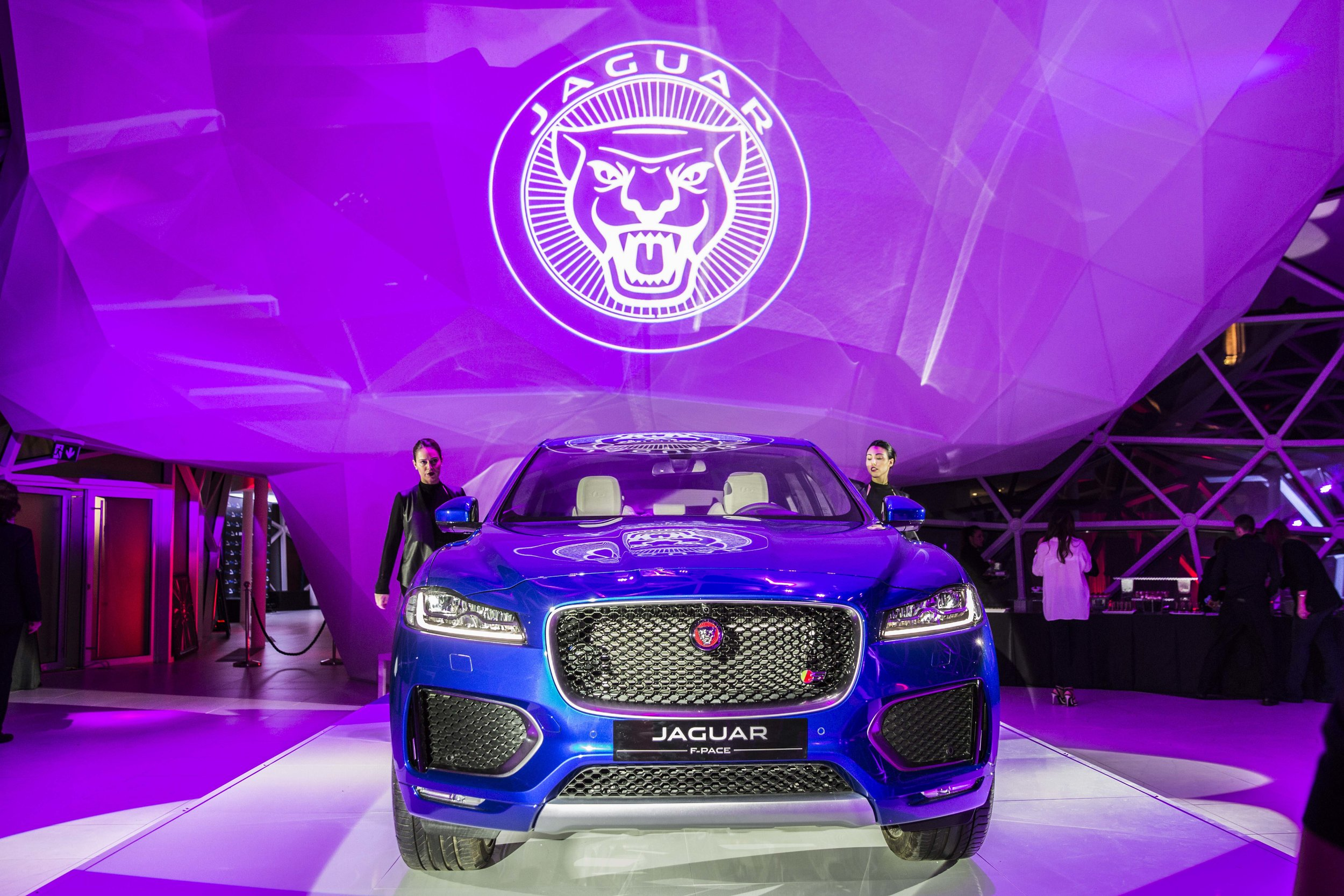 NEW JAGUAR F-PACE - ROMA