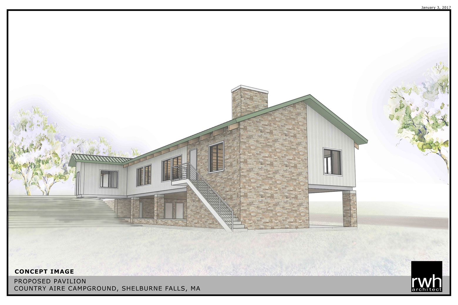Country Aire Campground Pavilion_Shelburne Falls, MA_ RWH Architect_Salem NH_2.jpg