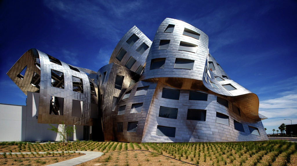 The Lou Ruvo Center _Frank Gehry__ RWH Architect_Salem NH
