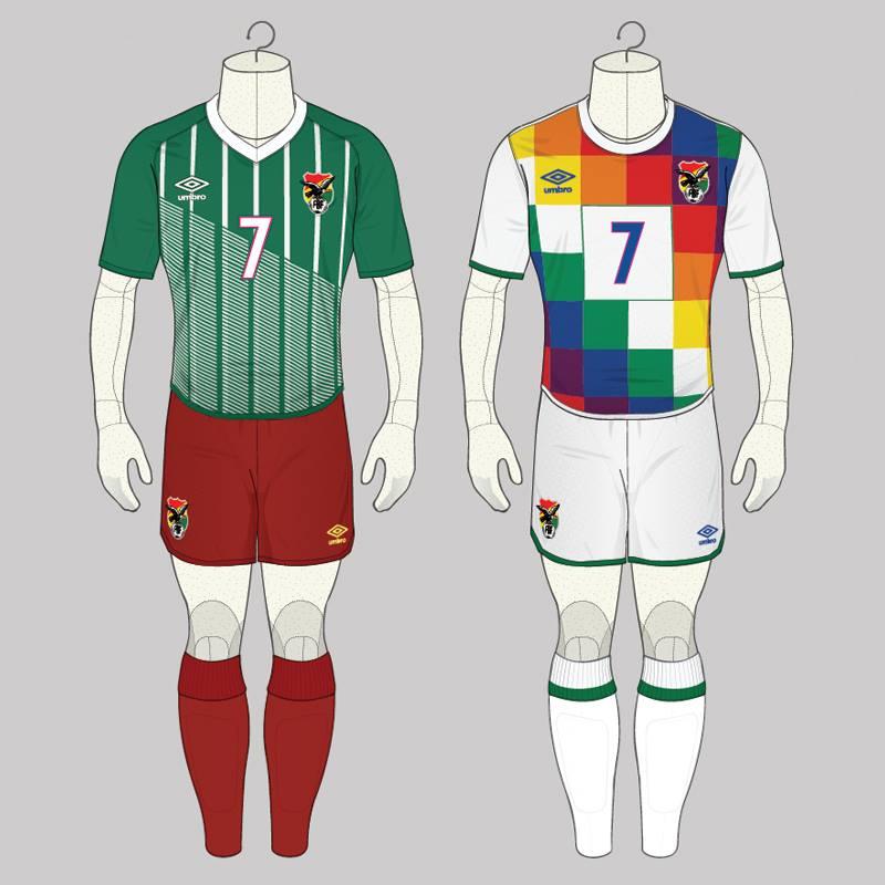 Un simple concepto de diseño de la camiseta boliviana de fútbol,le ha dado al diseñador inglés Angelo Trofa  una que otra anécdota interesante , al ser criticado y hasta amenazado de muerte cuando lo único que hizo fuetener una idea. (1)