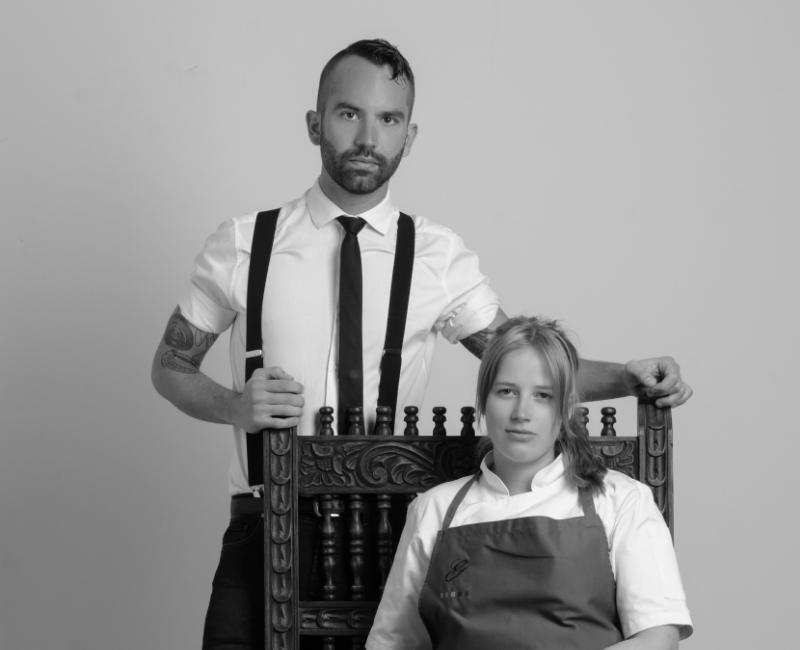 Michelangelo Cestari (Venezuela) y Kamilla Seidler (Dinamarca) son los chefs que exploran las nuevas posibilidades gastronómicas bolivianas en Gustu,  uno de los 50 mejores restaurantes de América Latina. (2)