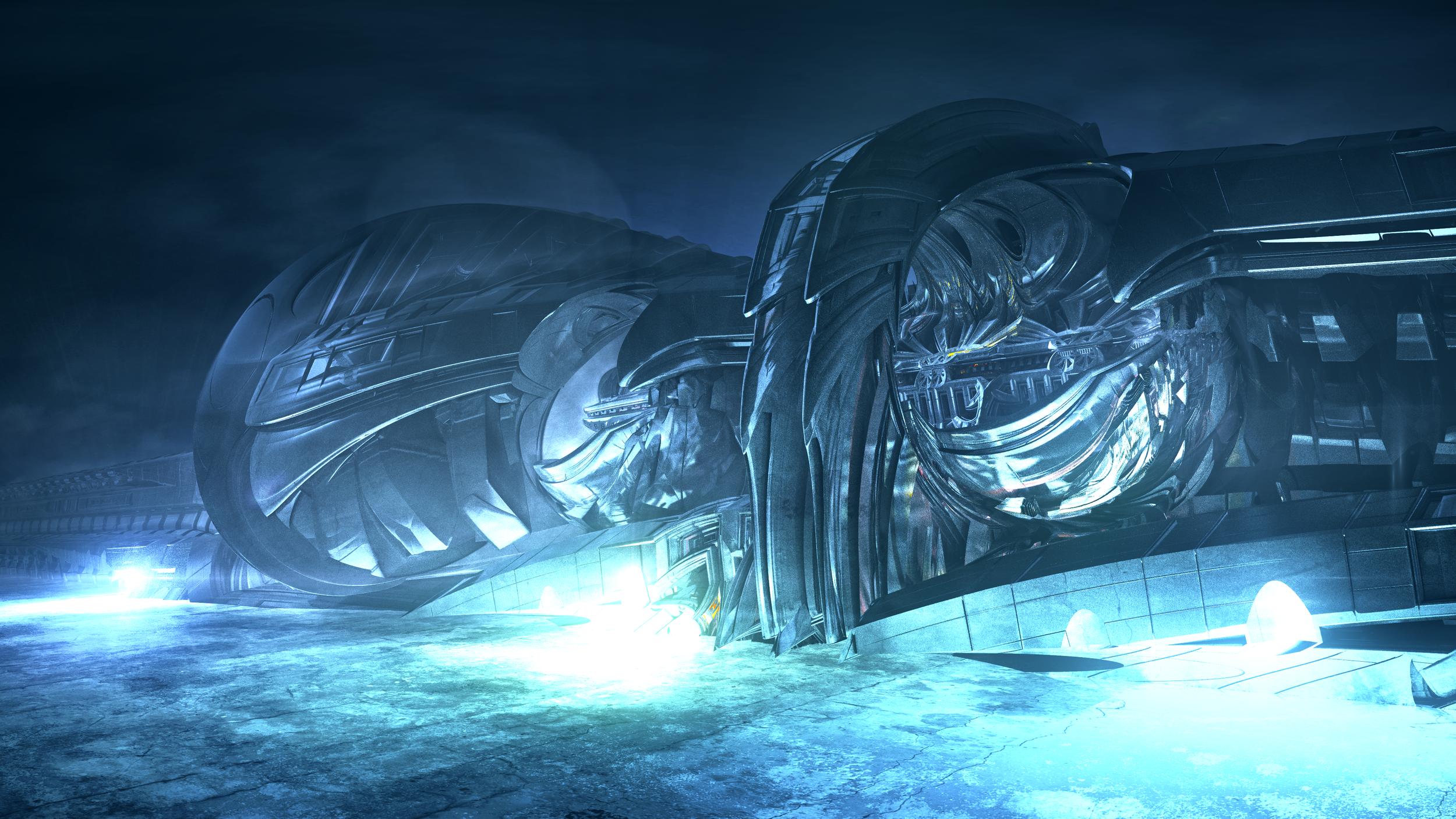 Frozen Station (3840x2160)