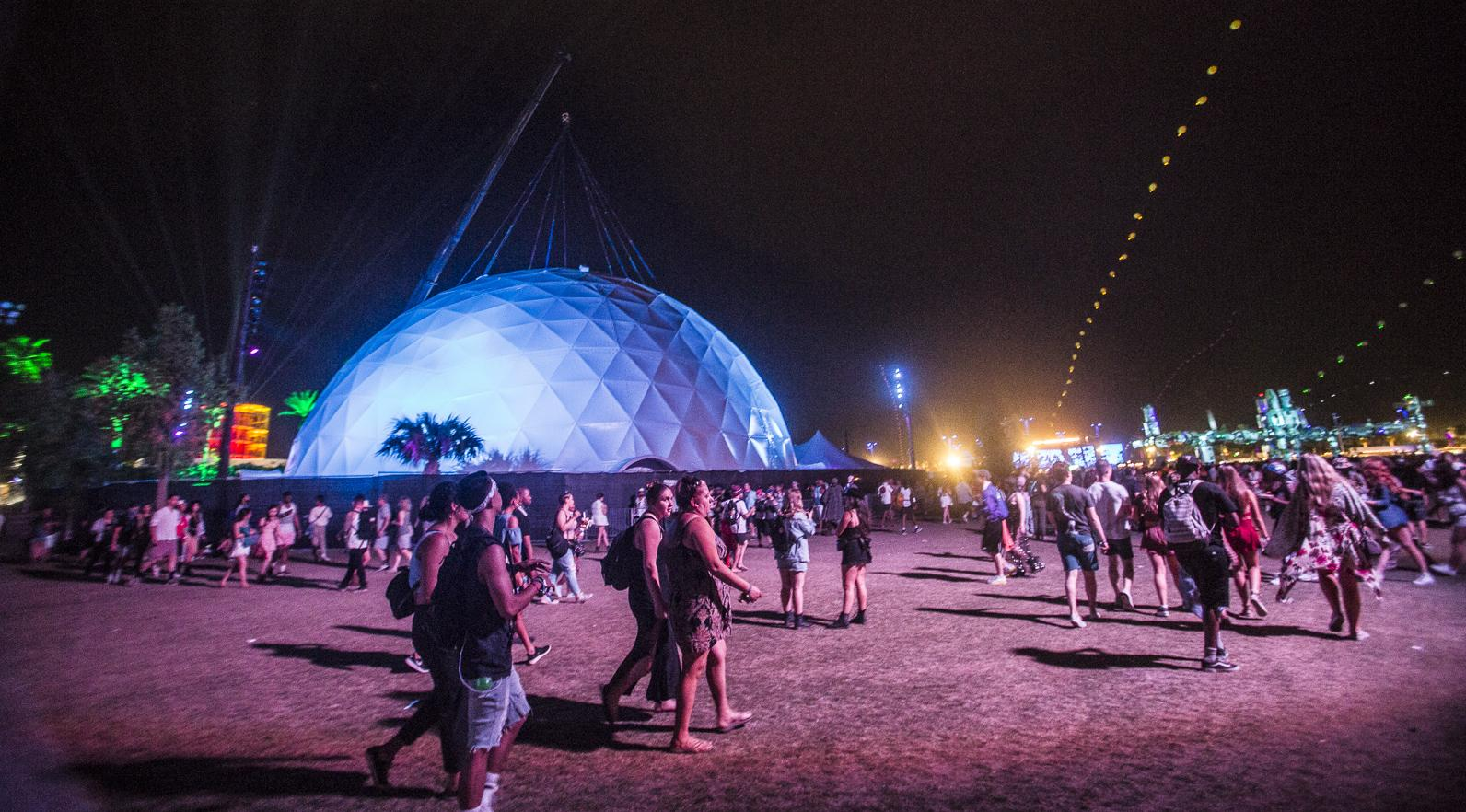 The Antarctic Dome at Coachella