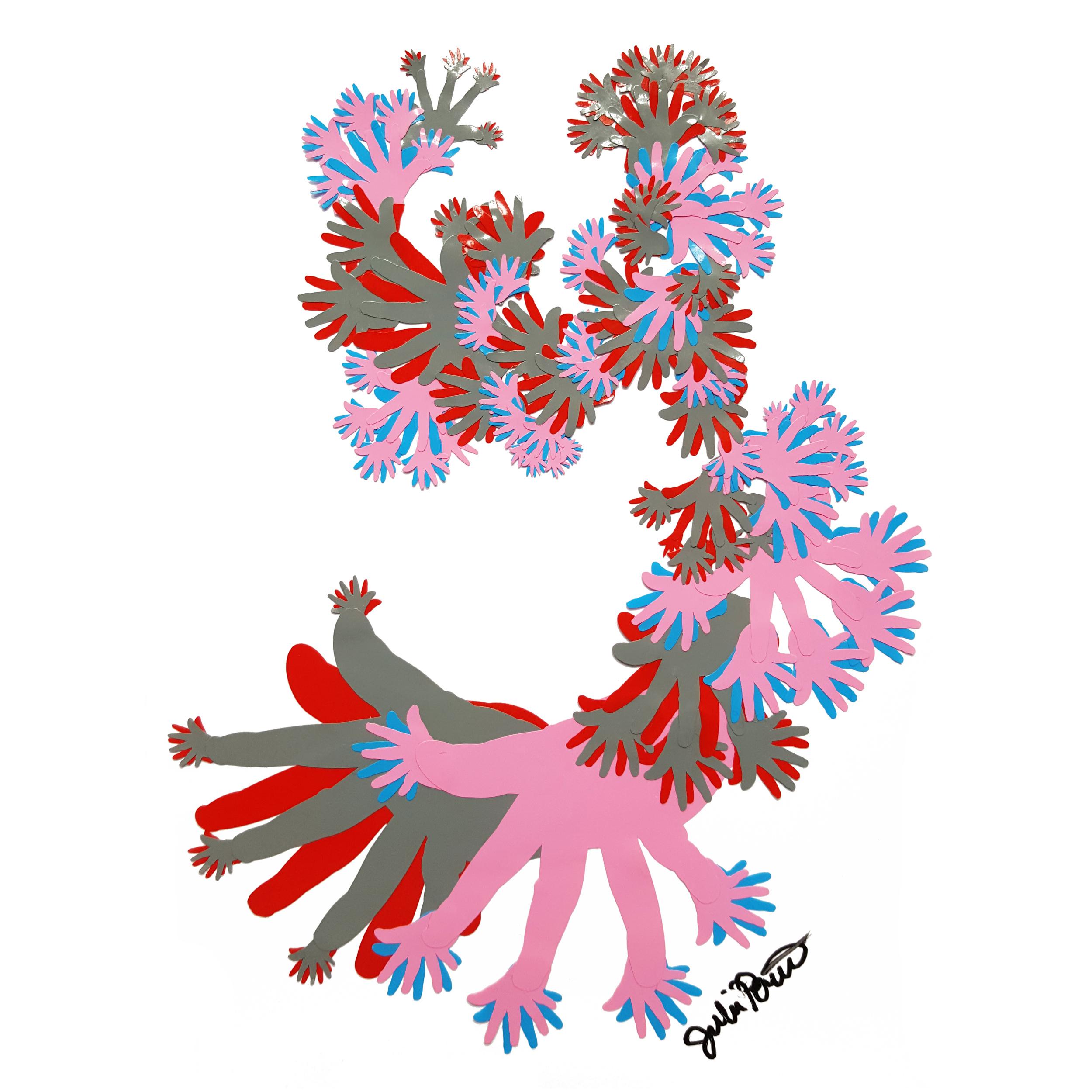 Flamenco Jazzhands  apx 18x13cm