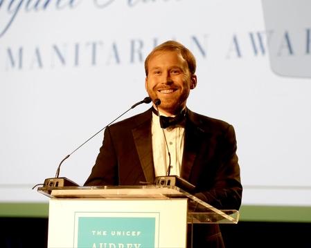 Pierce Bush at The 2015 UNICEF Audrey Hepburn® Society Ball in Houston, Texas.