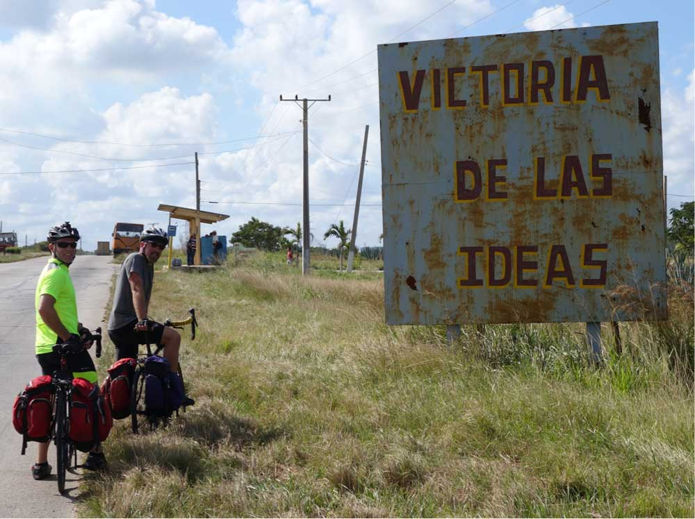 Bold revolutionary ideals, presented on a rusting and crumbling infrastructure. Cuba is an odd mix of both notable successes and multiple failures.