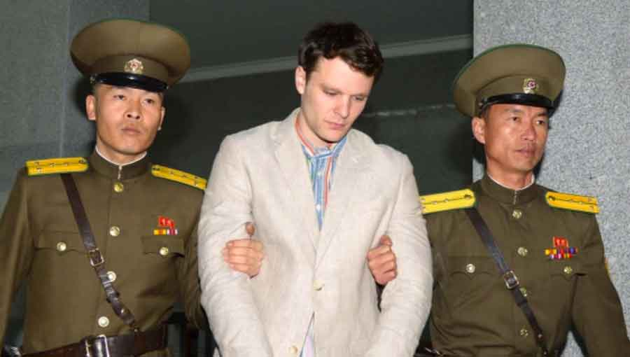 American Otto Warmbier was serving a 15 year sentence with hard labor.  In June 2017 his comatose body (evidently he had been a coma for a year) was returned to the US.  He died one week thereafter, on June 19, 2017 at age 22.  The DPRK's explanations are absurd and they clearly have blood on their hands.