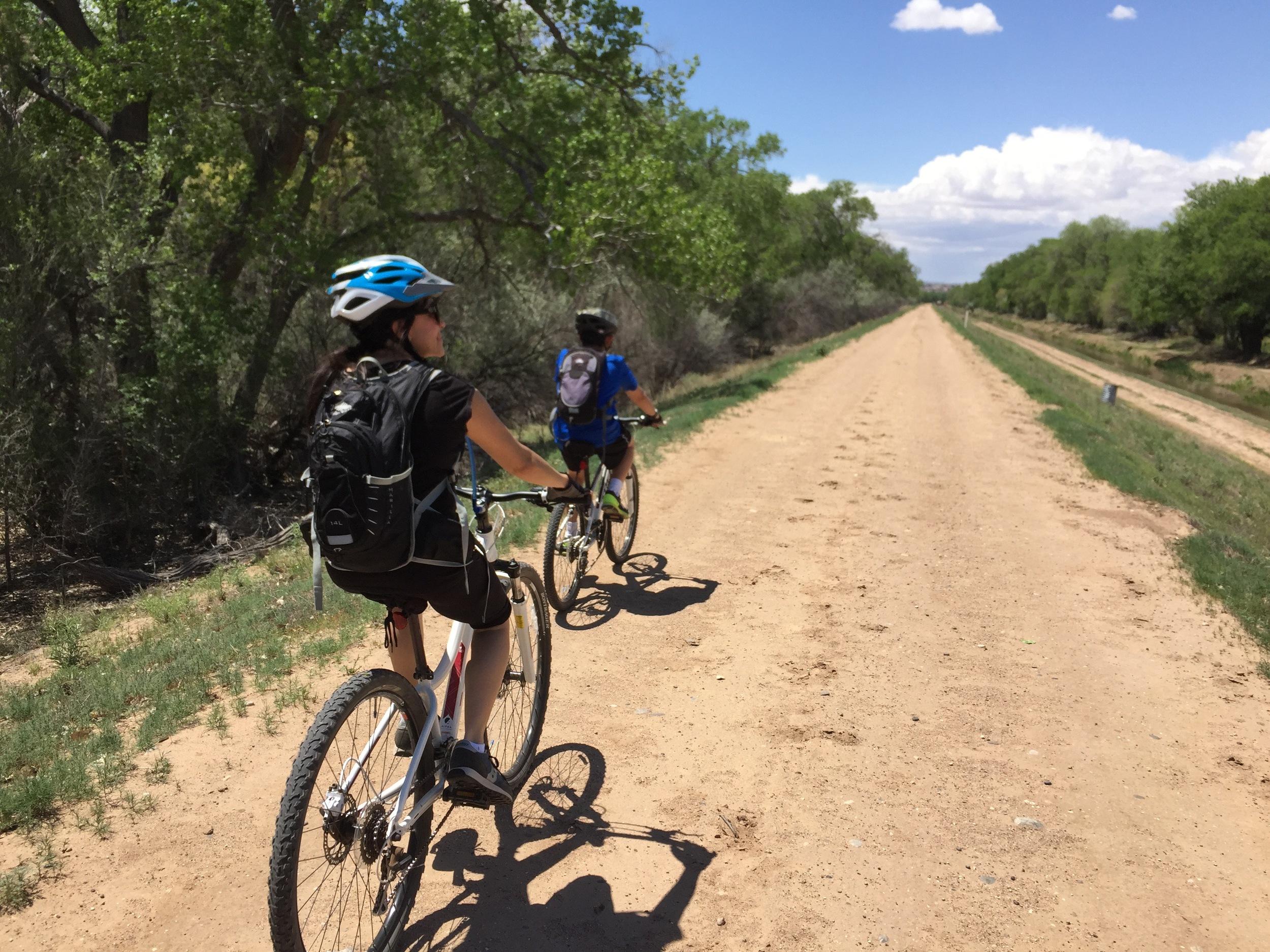 Biking Albuquerque