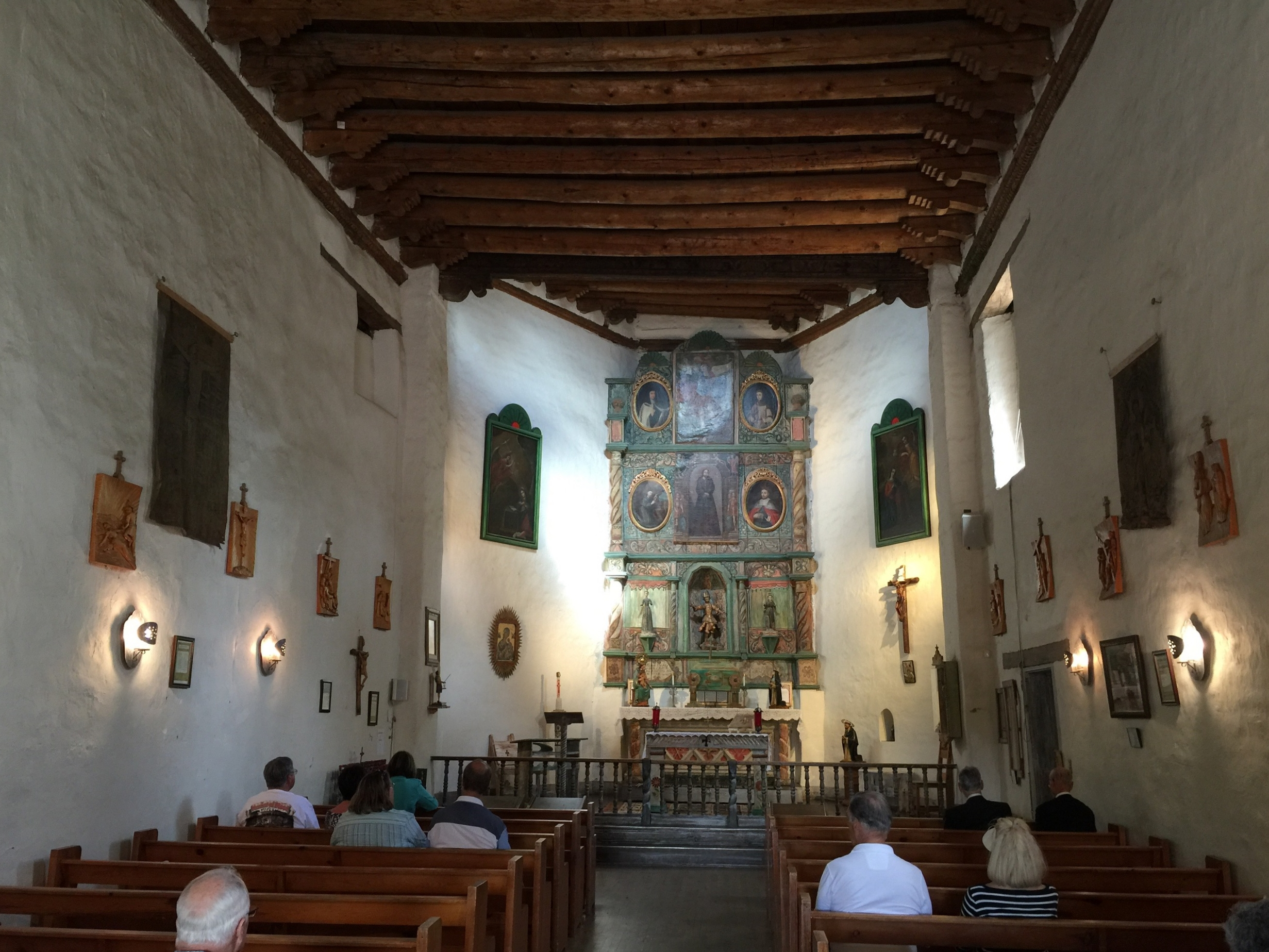 San Miguel Chapel , founded ca 1610