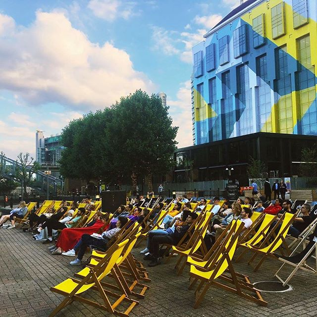 Book your #FREE tickets now because #RepublicLDN's Waterside Cinema is back!⠀ ⠀ Every evening from the 19th - 22nd August, you can enjoy films both old and new from your very own deckchair by the water at Republic. Delicious food and drink are available from @thegentlemenbaristas. Tickets are available now via the @republic.ldn website 🎬🍿⠀ .⠀ .⠀ .⠀ #film #films #movies #movie #queen #bohemianrhapsody #outdoorcinema #openaitcinema #freeevent #freelondon #senseandsensibility #summer #summerinlondon #hiddenlondon #thisislondon #london #eastlondon #deckchairs #community #communityevent #publicspace #publicrealm #blackpanther #thebeach