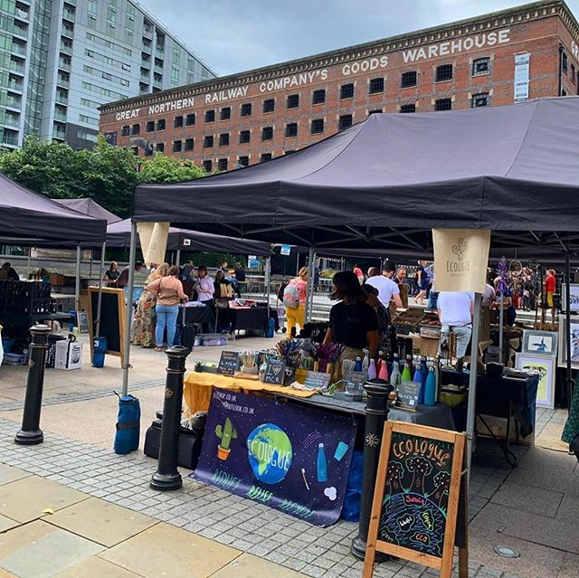 We love hosting @_makersmarket at @GNWManchester. Don't miss them on site the first Sunday of every month.⠀ -⠀ Repost @ecologueshop⠀ -⠀ The Great Northern @_makersmarket on Sunday was great fun and a huge success, and has now got us more than excited for our next one...⠀ .⠀ .⠀ .⠀ #makers #market #artisan #springevents #whatson #events #manchester #mcr #manchestermarkets #art #food #weekend #thingstodo #april #visitmanchester #greatnorthern #greatnorthernwarehouse #deansgate #warehouse #crafts #weekendfun #sundayfunday #dayout #may #crafts #handmadegifts