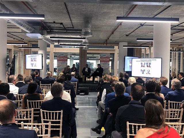 Yesterday @bisnow hosted their annual BOLD Conference at @Republic.LDN, with Trilogy's @robert.wolstenholme giving the opening speech and hosting a panel on sustainability, and Laurence Jones was a panellist discussing innovation.⠀ .⠀ .⠀ .⠀ #bisnow #conference #bisnowconference #bold #republicldn #interior #interiorshot #architecture #office #officespace #publicrealm #eastindiadock #towerhamlets #poplar #trilgoyproperty #londonoffice #eastlondon #panel #panellist #panelist #sustainability #innovation #innovationintheworkplace
