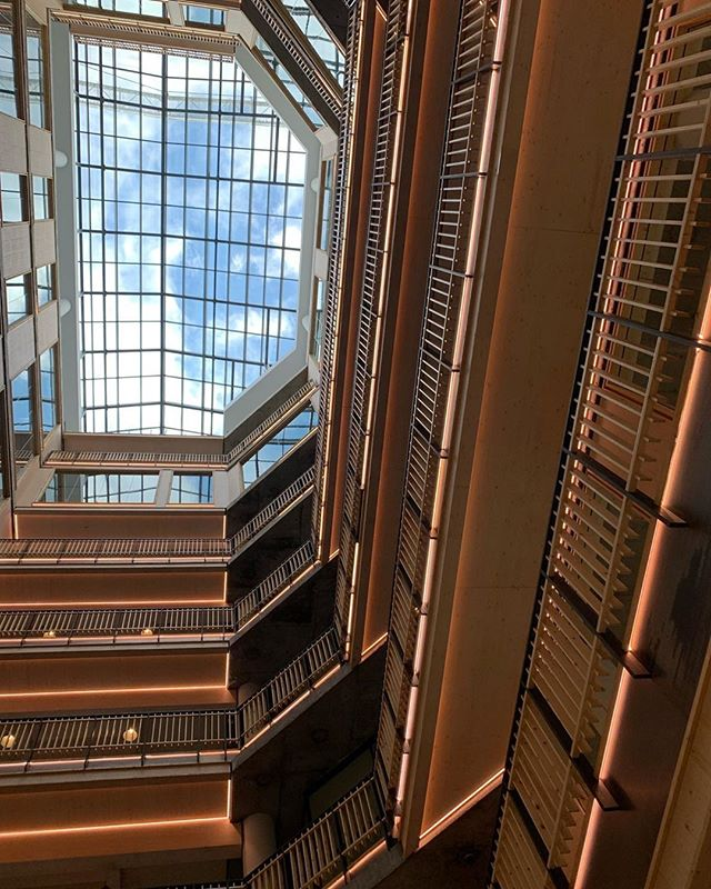 COMING SOON: The Export Building at @Republic.LDN. The next phase of London's newest creative community.⠀ ⠀ Featuring a stunning atrium, the Export Building offers 184,362 sq ft of dynamic workspace over nine floors.⠀ ⠀ Facing onto a stunning water garden, the building is surrounded by carefully curated amenities and currently has office spaces available from 1,046 sq ft – 116,259 sq ft.⠀ -⠀ 📸 by @thidaa⠀ .⠀ .⠀ .⠀ #atrium #timber #timberstructure #staircase #balcony #comingsoon #eastlondon #office #london #officespace #eastlondon #polar #work #architecture #bestoffice #workspace #instawork #coworking #towerhamlets #eastlondonoffice #workspace #londonoffice #interiordesign #community #startup #creativeplaces #creativespaces #communalspace