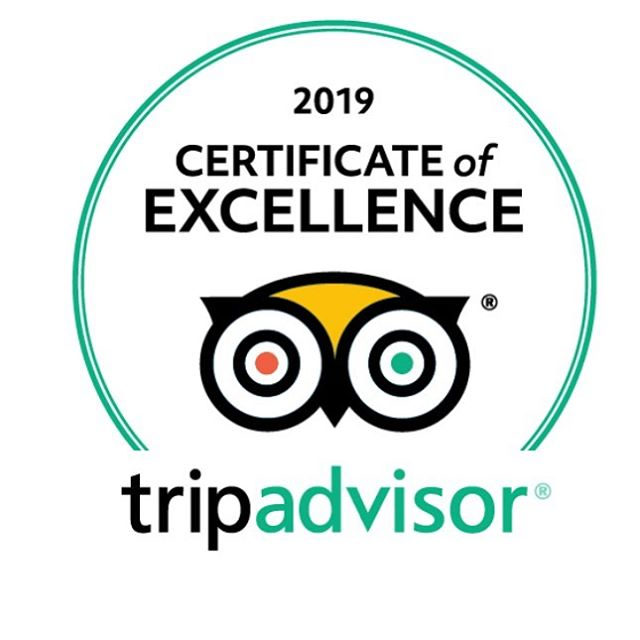 Thank you so much for another year of excellence @tripadvisor!