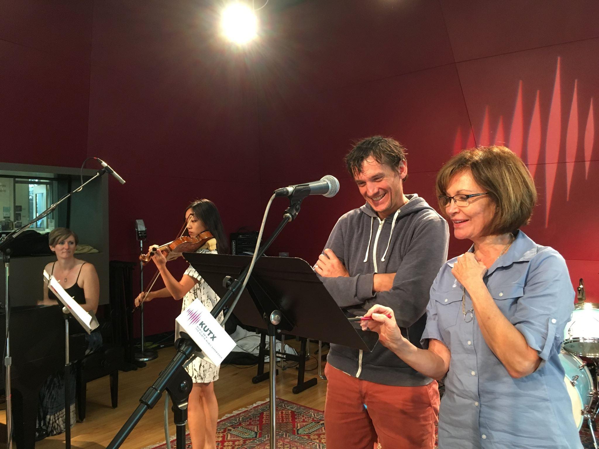 KUT Radio recording, 2016