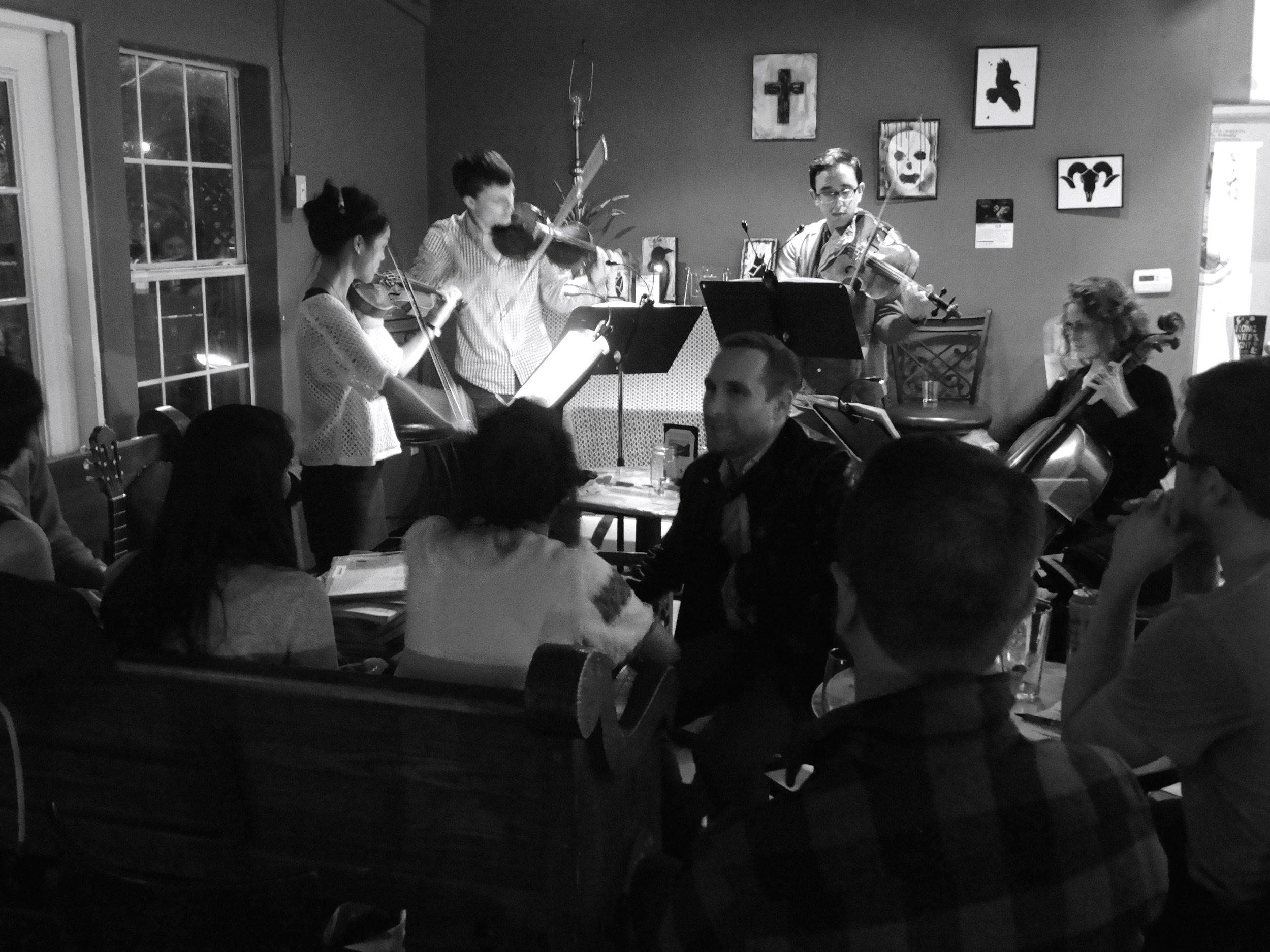 Classical Jam Night, 2015, Austin Texas