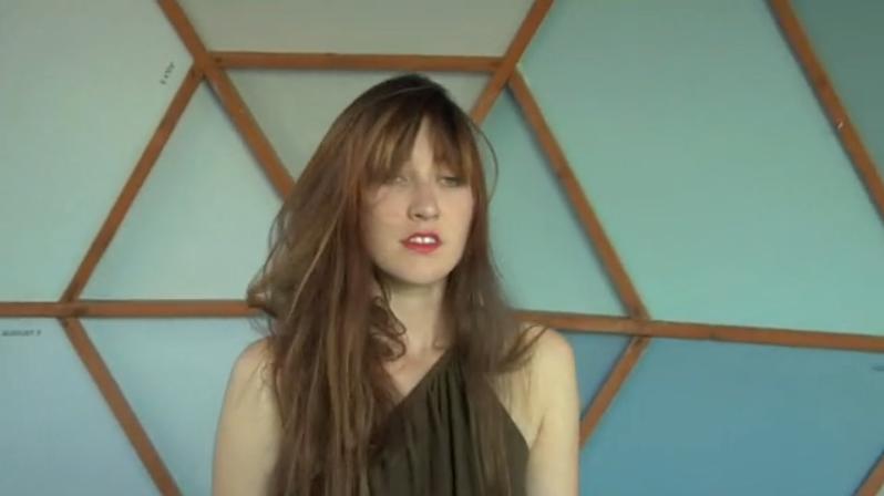 Still from Berlin based artist  Dafna Maimon's Vegan Venetian Single Channel HD Video, 16'36, 2011