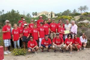 Los Asociados de KW Marbella en su primer RED DAY en 2015
